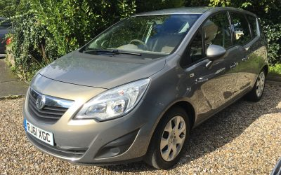 Vauxhall Meriva 1.4 i 16v Exclusiv 5dr £4,250 *** NOW SOLD ***